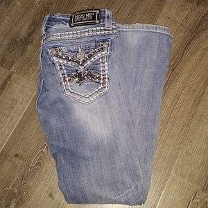 Miss Me bootcut jeans- size 26""